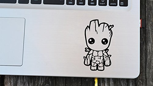 "Gadgets Wrap Skin for Apple MacBook 11"" 13"" 15"" Non Retina Touch bar Decal Skin-GOG Groot"