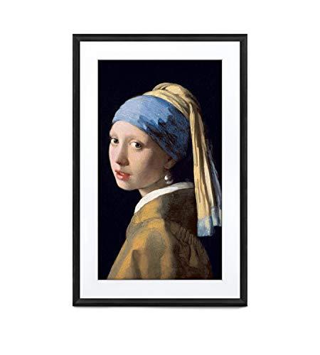 MEURAL Canvas II MC327BL Smart Art Digitale HD-Leinwand 48 x 74 cm (Schwarzer Rahmen, 27 Zoll, Gemälde und Fotografien werden in naturgetreuen Details wiedergegegeben, WLAN-Verbindung mit App)
