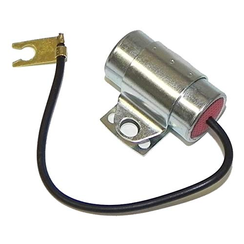 Inline Tube Compatible with 1964-1974 GM OEM Ignition Coil Bracket Mounted Radio Noise Capacitor with Clips .3mf