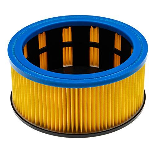 vhbw Staubsaugerfilter passend für Hitachi NT 1232, NT1232 Staubsauger; Faltenfilter, Filterklasse M