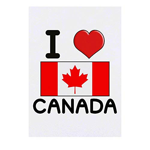 Grand 'I Love Canada' Tatouages temporaires (TO00000703)