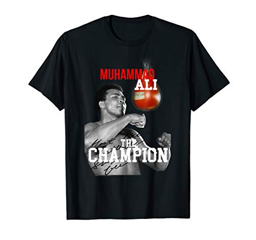 Muhammad Ali Champion Velour T-shirt