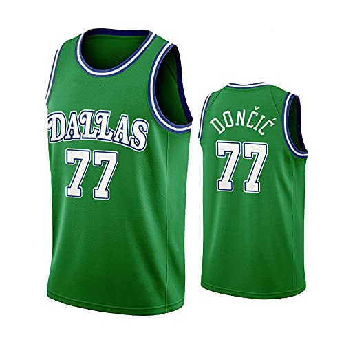 TINKOU Camiseta Deportiva NBA, Chaleco Casual de Baloncesto para Hombre n. ° 77, Camiseta sin Mangas de Deportes de Verano