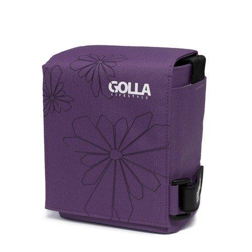 GOLLA Sun Kleine Camcorder / Kamera-Tasche in Lila Kamera-Zubehör