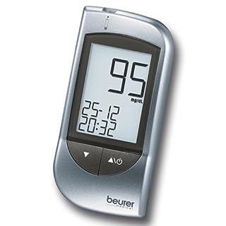 Beurer GL32 (mg/dL) - Medidor de glucosa (96 mm, 46 mm, 20 mm) Plata (B002IK0NIY)   Amazon price tracker / tracking, Amazon price history charts, Amazon price watches, Amazon price drop alerts