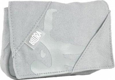 Bilora Cotton Tasche für Kompaktkamera grau