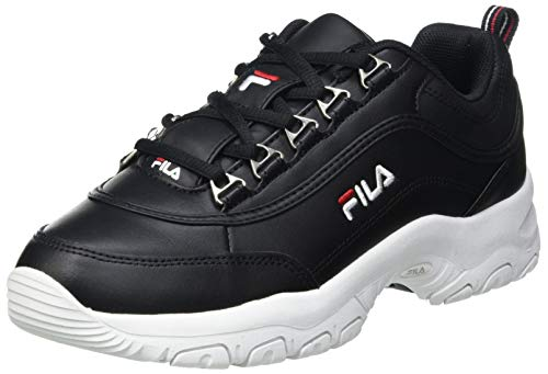 FILA Strada kids zapatilla Unisex niños, negro (Black), 33 EU