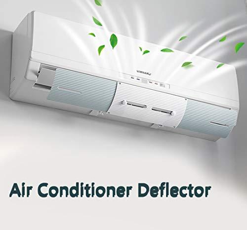 SxType airconditioningafstotend, voorkomt dat de koude lucht recht wordt geblazen, inschuifbare voorruit, voorruit voorruit (maat: 54~70)