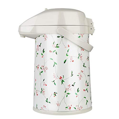 2.2 Liter Pomp Action Airpot Thermische Koffie Flask Glazen Liner Geïsoleerde Vacuüm Kop Warm Water Pot