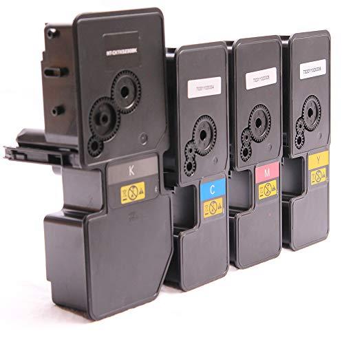 Set 4X Alternativ Toner für Kyocera TK5220 K C M Y für Kyocera Ecosys M5521cdn M5521cdw P5021cdn P5021cdw von ABC
