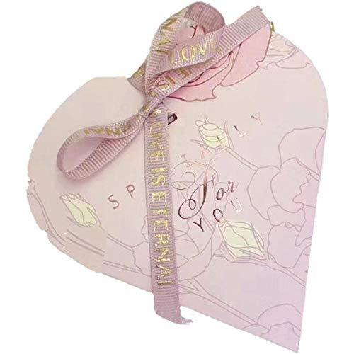 Geschenkbox Candy Box Candy Verpackungsbox Karton Zuckerbeutel Herzform Hochzeitswaren Party