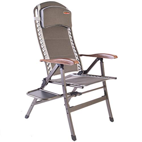 Quest Naples Pro comfort chair with side table. Camping Chair Outdoor Camping Furniture