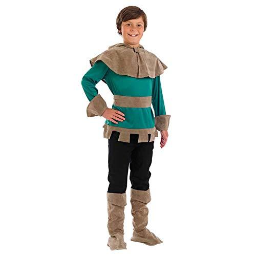 Fun Shack Déguisement pour Enfant Costume de Robin des Bois Vert pour Garçon - Taille S