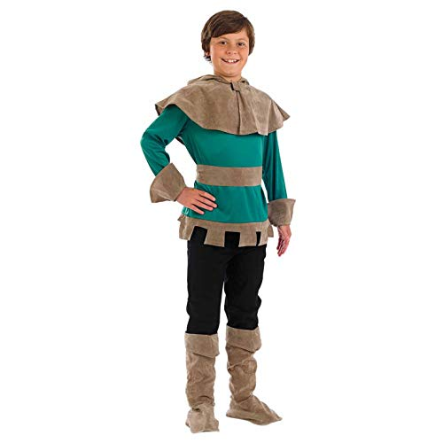 Fun Shack Costume per Bambini Fuorilegge Medievale Personaggio Ladro Storico - Taglia XL