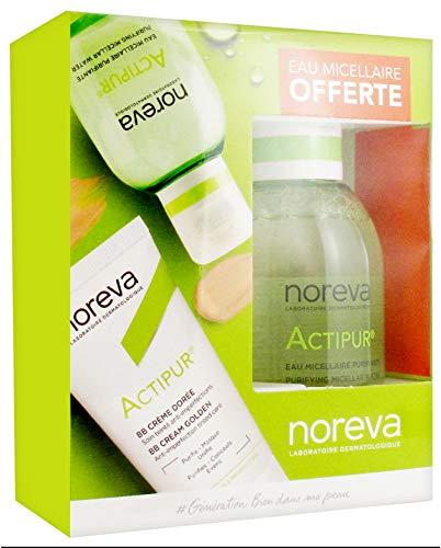 Noreva Actipur BB Crème Teintée 30 ml + Actipur Solution Micellaire Nettoyante Purifiante 100 ml Offerte - Dorée