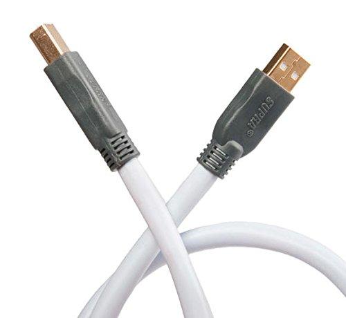 Supra Cables USB 2.0 A-B Kabel 0,7 m
