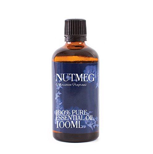 Mystic Moments Aceite Esencial de Nuez moscada, 100 ml, 100% Puro