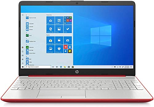 2020 HP 15.6'' HD LED Display Intel Pentium Gold 6405U 4GB DDR4 RAM 500GB HDD Windows 10 Scarlet Red