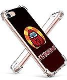 Darnew Amon A Funda para iPhone 6/6S, Dibujos Animados Lindo Moda Suave de TPU Diseño de Gracioso Divertido Frio para Niños y Niñas Mujer, Casos para iPhone 6/6S