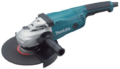 makita GA9020S - Amoladora (24 voltios, tamaño: 9pulgadas