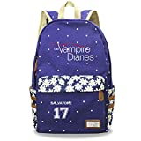 GD-fashion The Vampire Diaries Backpack-Kids Daypcak Unisex Canves-Backpacks for Travel,Outdoor