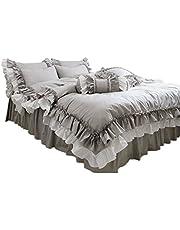 綿100% 可愛い掛け布団カバー 枕カバー2枚