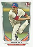 2014 Bowman Draft Picks - Aaron Nola - 1st Official Bowman Card - Philadelphia Phillies Baseball Rookie Card RC #DP4. rookie card picture