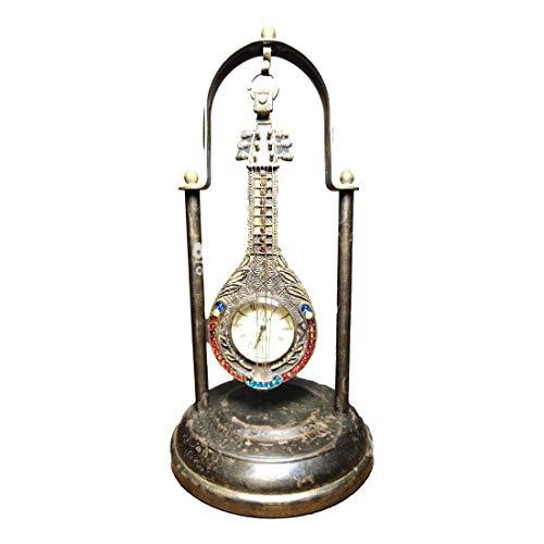 LAOJUNLU Old Collection of Omega Pure Copper Pipa reloj mecánico de bolsillo adornos imitación