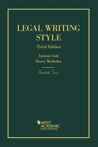 Legal Writing Style (Hornbooks)