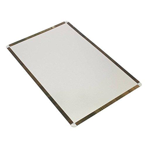 Kentop Retro - Cartel de metal para pared, diseño de texto en inglés...