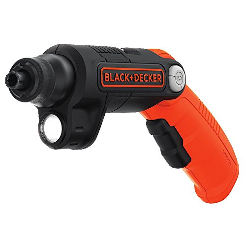 BLACK+DECKER 4V MAX Cordless Screwdriver with LED Light