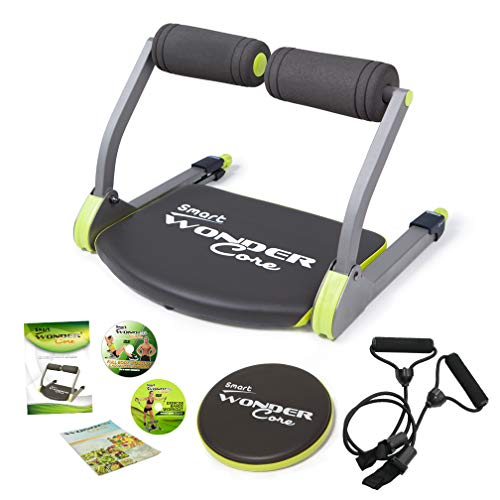 THANE Unisex's WonderCore Smart Home Exercise Machine for Core, Abs, Legs and Arms, Black, One Size