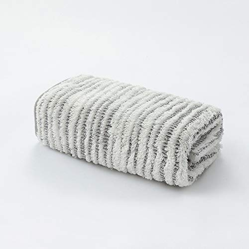 CMZ Toalla de Pareja Adulta Simple de Color sólido Jacquard Toalla de Pelo Alta y Baja Toalla Gruesa Absorbente Suave Gruesa (34x75 cm)