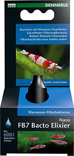 Dennerle Nano FB7 Bacto Elixier - Filterbakterien für klares Wasser, 15 ml