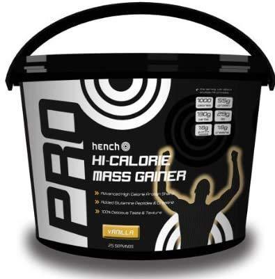 Hench Pro Hi-Calorie Mass Gainer 4kg - Vanilla