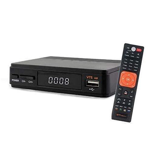 GT MEDIA Freesat V7S FTA Satellite TV Receiver HD DVB-S/S2 SAT Finder TV Decoder, Supports PowerVu, DRE & Biss Key, YouTube, Newcam Set Top Converter Box