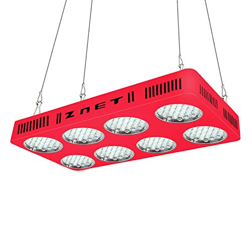 WYZM LED Pflanzenlampe,ZNET8 Grow Lampe,2000W HPS Äquivalent,Vollspektrum mit 2 Schalter für Gemüse und Blumen,Grow Lampe für Indoor Wachstumsanlagen.(ZNET8-2000W)…