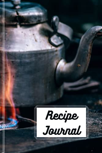 Recipe Journal 6x9: Ingredients and tricks won't disappear with this journal