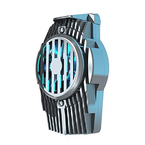 EATAN Leiouser - Radiador de refrigeración para 70-93 mm para teléfono universal semiconductor, ventilador de refrigeración en 1 segundo teléfono refrigerador para juegos