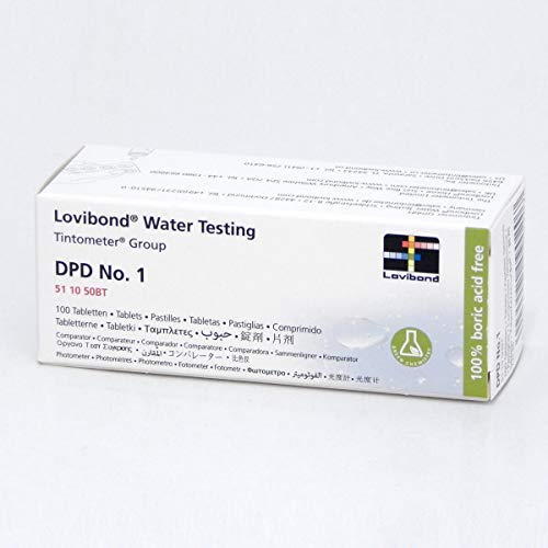 Lovibond DPD No 1 Free Chlorine Tablets