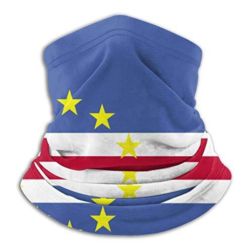 Fsrkje Cape Verde Flag Neck Warmer Schal, Gesichtsschutz, Kopftuch