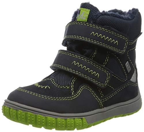 Lurchi Baby Jungen JAUFEN-TEX Stiefel, Blau (Navy Green 29), 26 EU