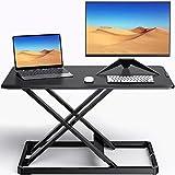 ErGear Standing Desk Converter Height Adjustable Stand Up Desktop Riser, 28