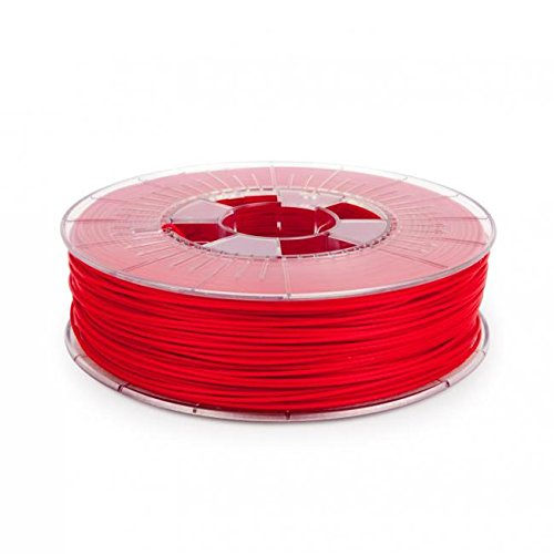 Pri-MAT 3D-printer filament PLA & ABS 1,75 mm / 2,85 mm Printer Spoel PREMIUM 800g, PLA 1.75mm, signaalrood, 1