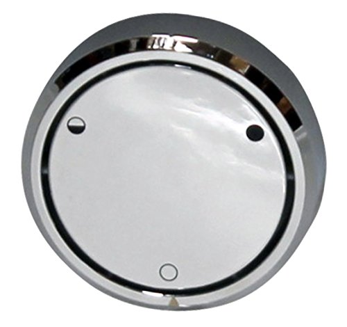 Westbrass D493CHM-26 Universal Deep Soak Bath Drain Plumber's Pack with 2-Hole Overlfow Faceplate, Polished Chrome