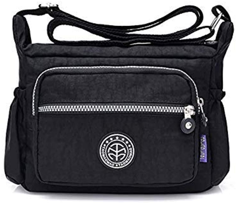 Bloomerang 2018 Women Messenger Bags Fashion Nylon Crossbody Bags for Women Famous Brands bolsas Femininas bolsas de marcas famosas color Black