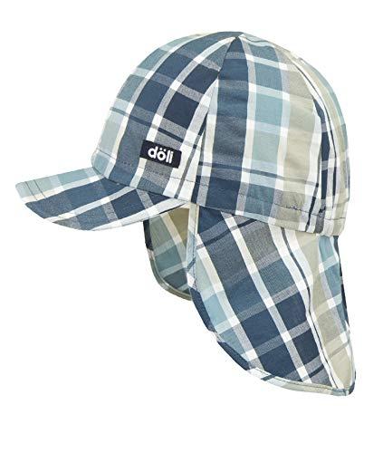 Döll Baby-Jungen Baseballmütze mit Nackenschutz Kappe, Blau (Adriatic Blue|Blue 3193), 49