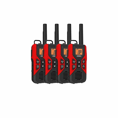 Uniden GMR3055 FRS GMRS Two-Way Radio Rechargeable Walkie Talkies 4-Pack