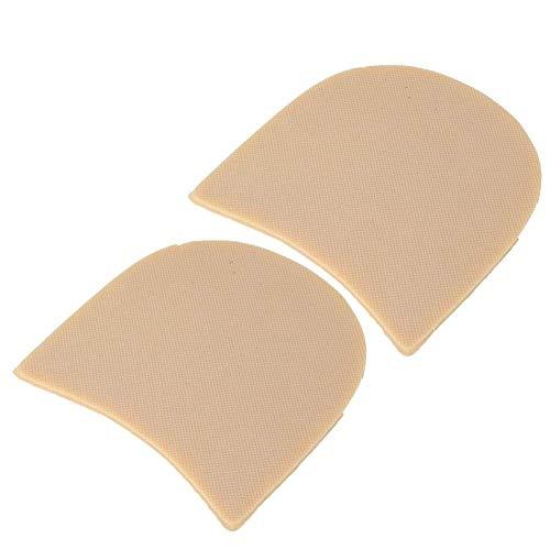 HEEPDD Herramienta de reparación de Zapatos manuales de Caucho Natural Pieza de talón Antideslizante Suela de fijación silenciosa para Reparar Zapatos de Cuero(Color de Conchas)