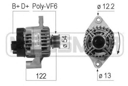 débrayables Alfaromeo 159 1.9 JTDM 120 Cv Mito 1.4 T – 1.6 JTDM 115 – 163 cv